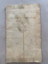 Antique Bookkeeping Ciphering Workbook Currency Acreage Conversion,