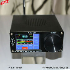 """Si4732 Full-Band Radio Receiver DSP Receiver FM LW SSB 2.4"""" Touch Screen ATS-25"""
