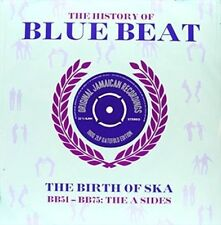 History of Blue Beat The Birth of SKA Various Artists Double LP 25 Track 180 Gr