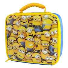 Brand New Insulated Despicable Me Minions Lunchbag Schoolbag School Bag