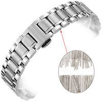 Stainless Steel Watch Band Spring Bars Strap Link Pins 6-23mm Repair Kit