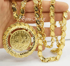 Resat Altin Ceyrek Tugra Altin Zincir Gold Münze Kette 24 Karat Gold vergoldet
