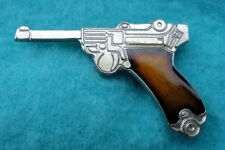 ZP38 German Luger Pistol Parabellum Semi Automatic Hand Gun pin badge