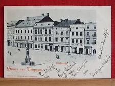 Fotokarte - Troppau / Opava - gel 1897 - selten !!