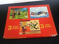 Puzzle Tintin Wavery Eldorado 1977 TRES BON ETAT
