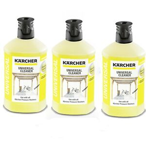 Karcher Pressure Washer Universal Cleaner Plug and Clean 6.295-753.0 X 3-1 Litre