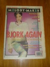 MELODY MAKER 1993 MAY 15 BJORK RADIOHEAD BIG STAR
