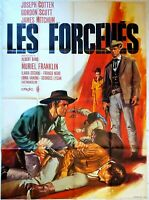 Plakat Kino Western Les Forcenes Gordon Scott - 120 X 160 CM