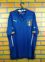 Italia Italy soccer jersey XL 2014 2016 home shirt football Diadora