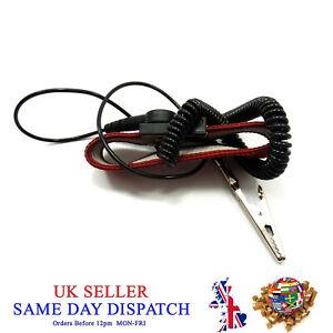 Anti Static Wristband Alligator Electrostatic 50cm Cable Bracelet ESD Grounding