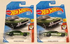 Lot Of 2 - Hot Wheels #92 Muscle Mania 6/10 '69 DODGE CHARGER 500