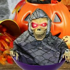 Halloween Electric Candy Dish Bowl Halloween Horror Decoration Props