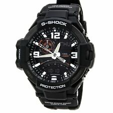 461f30f3dcb92 Casio G-Shock Men s G-Aviation Twin Sensor Black 52mm Watch GA1000-1A