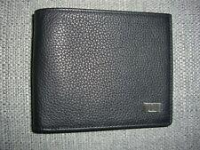 Porte cartes, porte feuille, Dunhill en cuir noir