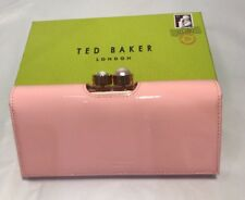 Ted Baker Pearl Bobble Patent Matinee Purse Mid Pink