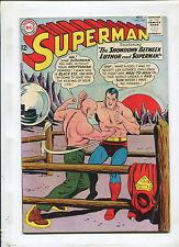 SUPERMAN #164 (6.0) THE SHOWDOWN BETWEEN LUTHOR & SUPERMAN! 1963