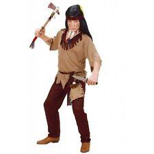 Boys Kids Girls Indian Brave Warrior Chief Cowboy Wild West Fancy Dress Costume 8 - 10 Years 02617