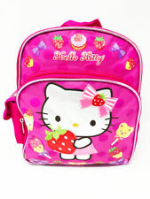 """Sanrio Hello Kitty Fruits 12"""" Toddler Backpack. Authentic Brand New."""