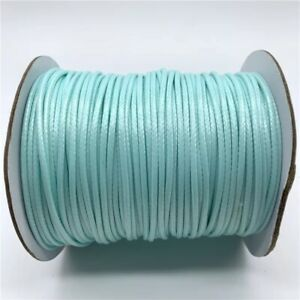 2mm Waxed Cotton Thread Cord String Necklace Fashion Jewelry Making Accessories