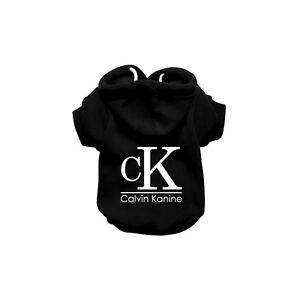 CK Dog Sweatshirt Hoodie - Dog Sweater - Dog Jumper - Printed Dog Clothing