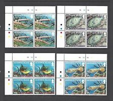 ASCENSION 2012 SG 1129/32 MNH Blocks of 4 Cat £32