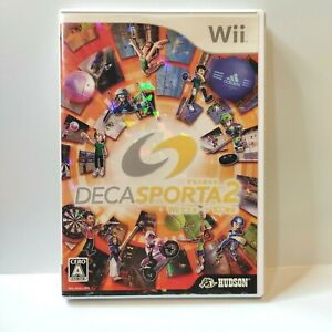 Wii Deca Sporta 2 - tennis hockey kendo sports Hudson Nintendo - Japan Import