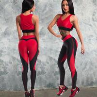 US Women Sports YOGA Workout Pants Gym Fitness Peach Athletic Trousers Leggings