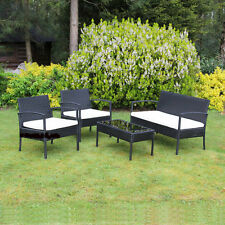Unbranded Rattan Up to 4 Seats Garden & Patio Furniture Sets