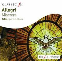 Allegri: Miserere / Tallis: Spem In Alium - Various Artists (NEW CD)