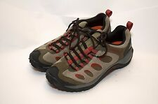 Men's Merrell 'Brindle' Suede Hiking Shoes sz 11/45 Camp Trail Casual Excellent