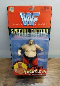 Jakks Pacific 1997 WWF Special Edition Yokozuna MOC New Limited Edition