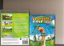 EVERYBODYS GOLF WORLD TOUR PLAYSTATION 3 PS3