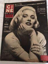 Ciné Revue N°11 du 12 mars 1954 / Jeff Chandler-Faith Domergue-mamie van doren