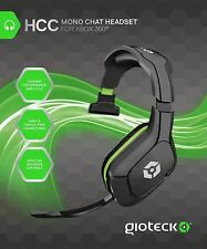 Gioteck HCC Mono Chat Wired Gaming Headset Headphones for XBox 360 / One / S / X