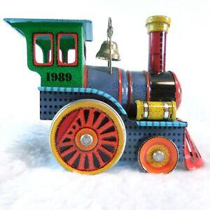 Hallmark Tin Locomotive Train Engine 1989