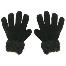 Happy Bunny - Winter Wear Girls Gloves - Black