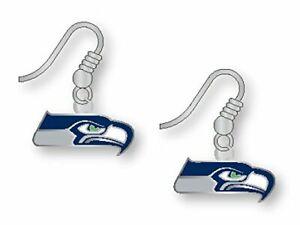 Seattle 12 Fan Earrings Blue Friday 12th Woman Seattle Sports Earrings Sports Bling Seattle Fan Studs 12th Man Seattle Sports Jewelry