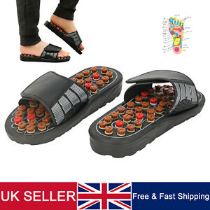 Acupuncture Foot & Body Reflexology Therapy Feet Massage Slippers Shoes Sandal