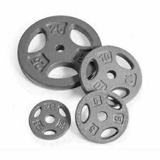 "CAP Standard 1"" Grip Plates - 2.5, 5, 10, 25lb Pairs(Choose Weight) 2 Plates Per"