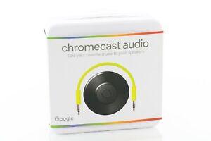 Google Chromecast Audio Media Streamer - Black FINAL VERSION NEW