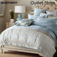 Oriental Embroidery Egyptian Cotton Luxury Bedding Set Bed Set Cover Sheet Set
