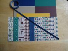 """Stampin Up TRUE GENTLEMAN 6 X 6"""" Designer Paper Card Kit ribbon"""