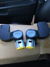 Pair of iCandy Apple / Pear Lower Yellow Maxi Cosi Car Seat Adapters