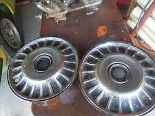 TRIUMPH 2000/2500 STAINLESS HUBCAPS X 2
