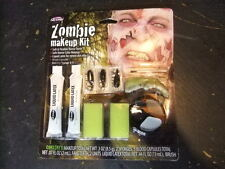 Zombie Makeup kit horror teeth liquid latex blood capsules new in package
