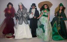 Barbie Ken Gone with the Wind Complete Set of 5 Dolls from Adult Collector NEW
