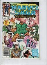 Marvel Saga #1-10 Set