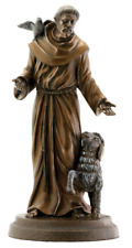 """St. Francis of Assisi Statue Sculpture Figurine 7.5"""" High - WE SHIP WORLDWIDE"""