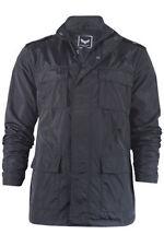 Zip Hip Length Nylon Regular Size Coats & Jackets for Men