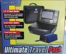 NEU 7.0 PAL LCD Tragbar Monitor Für PS2 Playstation 2 + Spannungswandler